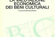 La valutazione economica dei beni culturali
