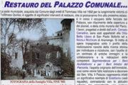 Restauro del palazzo comunale di Valfenera