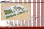 """Sicurezza cantiere per la realizzazione del sacrario ai caduti sul lavoro """"Memoriale Thyssen"""" presso il Cimitero Monumentale di Torino"""